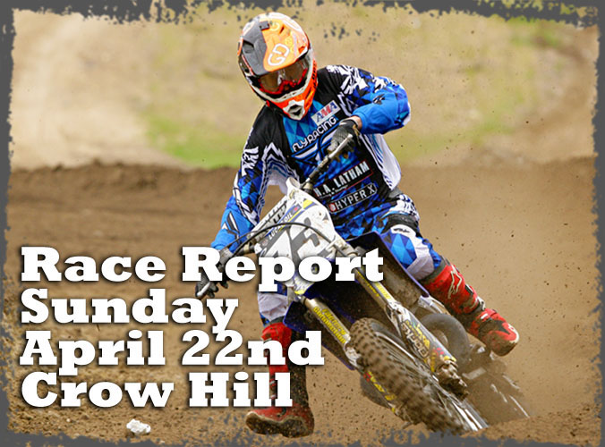 Race report cover